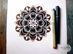 Image result for red mandala tattoo