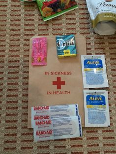 First Aid Kit for Welcome Bags