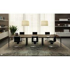 Tables de reunion design · Table de conférence X9 pour 12 personnes –  Officity. 7281e255a3cf