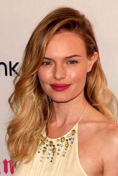 En casos como el de Kate Bosworth, rubia por naturaleza, el cambio es imperceptible pero el degradado acentúa más su color de pelo.
