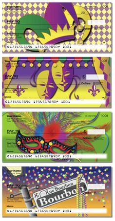 Mardi Gras Bank Checks