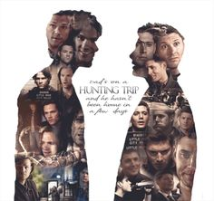 Sam and Dean Winchester - Supernatural Supernatural Destiel, Castiel, Supernatural Series, Supernatural Wallpaper, Supernatural Bloopers, Supernatural Tumblr, Supernatural Tattoo, Supernatural Imagines, Supernatural Seasons