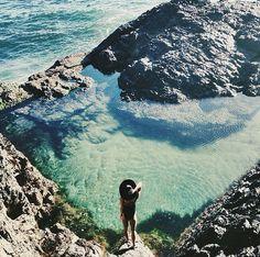 major wanderlust for this ocean swim.
