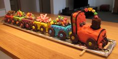Remember when you were little and (one of) the most exciting things about your birthday was choosing your very own cake out of the Women's W. Dinosaur Birthday Cakes, 2 Birthday Cake, Trains Birthday Party, Train Party, Birthday Ideas, Baby Boy Cakes, Cakes For Boys, Zoe Cake, Digger Birthday