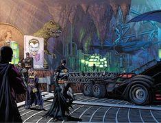 Batcave, why I love thee! by the Dork Doll House For Boys, Dc Comics, Wayne Enterprises, Batgirl Costume, Wayne Manor, Hydroelectric Power, Giant Tree, Arkham Asylum, Batman Beyond