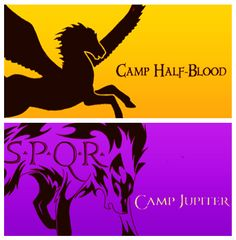 Both of them are beautiful but I like Camp Jupiter's more. I'm sorry! I just...wolf.