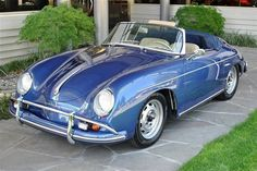 1959 Porsche 356 A Convertible D Porsche 356 Speedster, Porsche 356a, Porsche Carrera, Porsche Cars, Fancy Cars, Cute Cars, Retro Cars, Dream Cars, Porsche Replica