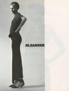 Stella Tennant for Jil Sander S/S 1997, by David Sims