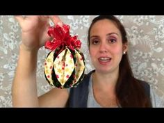 Learn how to make these super easy sewn and folded fabric Christmas ornaments! Folded Fabric Ornaments, Fabric Christmas Ornaments, Christmas Decorations, Diy Ornaments, Patchwork Quilting, Scrap Quilt Patterns, Quilts, Diy And Crafts, Crafts For Kids