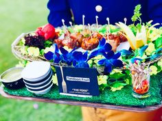 Food Serving Ideas by The Fork Luxury Catering - Shaadiwish Wedding Catering, Wedding Vendors, Catering Services, Catering Ideas, Event Management Services, Peanut Butter Mousse, Gulab Jamun, Multicultural Wedding, Wedding Function