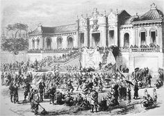 Looting of the Yuan Ming Yuan by Anglo French forces in 1860. This Day in History: Oct 18, 1860: The Second Opium War finally ends