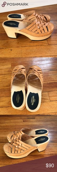 SWEEDISH HASBEENS CLOGS NIB Gorgeous shoes never been worn! Just wrong size for me. Size 39 (81/2-9) Swedish Hasbeens Shoes Mules & Clogs