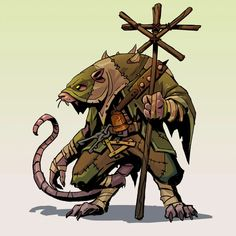Do you have some time to talk about our lord and saviour the Horned Rat! Fantasy Character Design, Character Concept, Character Art, Concept Art, Fantasy Races, Fantasy Warrior, Space Fantasy, Fantasy Artwork, Age Of Sigmar