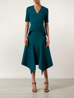 Dion Lee drapey front skirt