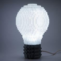 Lego Light Bulb by Mr.Attacki, via Flickr