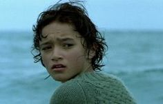 Keisha Castle-Hughes as Paikea in Whale Rider...A truly fabulous and 'natural' performance by this young actress. Stunningly convincing!