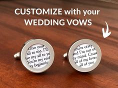 This first wedding anniversary gift is customized with your