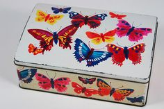vintage Cadbury's butterfly tin by H is for Home on Flickr