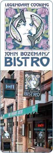 """John Bozeman's Bistro welcomes you to an original fine-dining experience in it's one-of-a-kind setting. The imaginative """"World Cuisine,"""" fine wines, quality brews, and great service has been enhanced by the unique design of the renovated 1905 downtown building. The Bistro menu is known for its creative treatment of the freshest ingredients and their eclectic international flair offering a multidimensional flavor. We welcome you to """"Savor It"""" at the Bistro."""