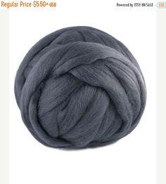 SALE Superfine Merino wool roving 19 microns  by DivinityFibers