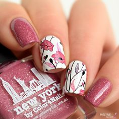 Stunning Flower Nail Art Designs That Are Insanely Beautiful - Stunning Flower Nail Art Designs That Are Insanely Beautiful Nail Art March Dress Up Your Nails In The Most Stylish Way This Spring With Over The Top Flower Nail Art Designs Try Out