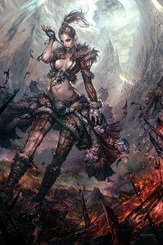 sekigan:  Guild Wars 2 art | Demons | Pinterest