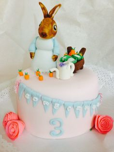 Peter Rabbits Cake