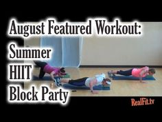 Summer HIIT Block Party