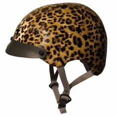 Sawako Furuno Leopard Helmet