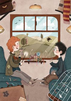 Harry Potter Illustrations (Part on Behance dibujos Fanart Harry Potter, Dobby Harry Potter, Harry Potter Tumblr, Harry Potter Kawaii, Harry Potter Kunst, Classe Harry Potter, Arte Do Harry Potter, Harry Potter Artwork, Harry Potter Drawings