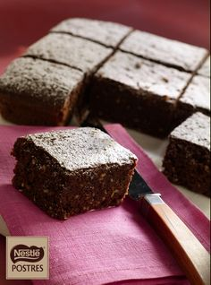 Brownie express Sweet Desserts, Sweet Recipes, Delicious Desserts, Dessert Recipes, Yummy Food, Microwave Recipes, Cooking Recipes, Brownies, Brownie Recipes