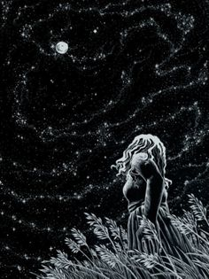 Alice stood in the moonlight...and stared at the moon...a star fell from the sky...lost in the night. Alice wished to go home...