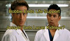 """""""General Hospital"""" (GH) spoilers hint that Lucas Jones (Ryan Carnes) may be grievously wounded in the culmination of May sweeps action on next week's episodes"""