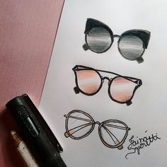 ❤ #draw #drawing #fashion #love #inlove #fashionillustration #illustration #sunglasses #fashiondesign #designdemoda #moda #oculos #art #arte #croqui #handmade #lookdodia #lookoftheday #fashion4arts