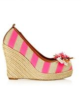 Juicy Couture RISHA striped wedges
