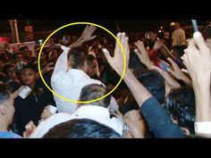 Sanjay Dutt MOBBED by his fans on World Environment Day 2016.