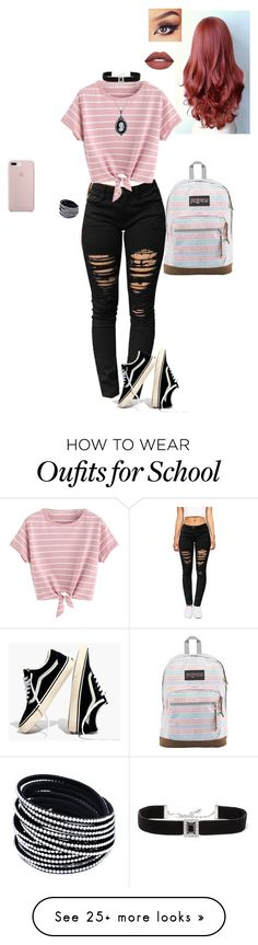"""bri bri"" by cobrakai72 on Polyvore featuring Madewell, JanSport, Kenneth Jay Lane and Bling Jewelry"