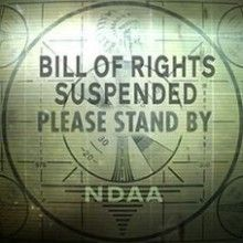 """OBAMA TAKING AWAY OUR RIGHTS:   Does Section 1029 Of The NDAA Guarantee Americans Their All this comes down to those final two words, """"otherwise entitled."""" ..... you are not """"otherwise enetitled"""" even though the Constitution says you are. Under both Bush and Obama, if they deemed you a terrorist, you had no right to a trial, because in their words, you are an """"enemy combatant."""" If you don't believe that our representatives think........read more here"""