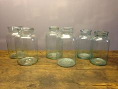 Large Glass Picking Jars Make Great Flower By Exquisiteantique
