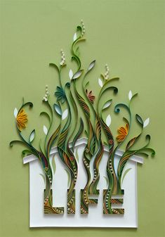 PaperGraphic Portfolio - click on the pictures to see more quilling.