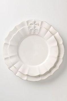 Fleur De Lys dinnerware