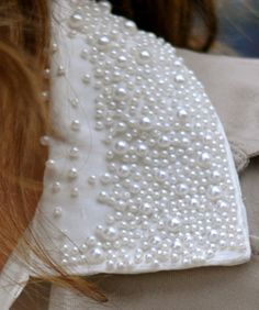 "A""PEARL""ANTLY PEARLS ARE STILL IN, AND A ""PEARL- IFECTALLY COOL WAY TO DRESS UP THAT COLLAR PEARL-IFECALLY....:)"