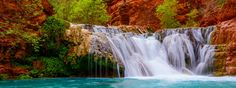 Beaver Falls, Havasupai, Arizona.