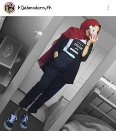 Modern Hijab Fashion, Street Hijab Fashion, Hijab Fashion Inspiration, Muslim Fashion, Modest Fashion, Fashion Outfits, Casual Hijab Outfit, Hijab Chic, Hijab Dress