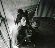 Artist Jean-Michel Basquiat and Madonna Jean Michel Basquiat, Jm Basquiat, Michael Bolton, Francoise Hardy, Katharine Hepburn, Phil Collins, Richard Avedon, Fred Astaire, Janis Joplin