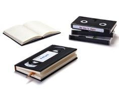 Retro Style VHS Video Tape Lined Notebook Diary Journal: Amazon.com: Kitchen & Dining