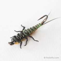 Fly Tying Material Stonefly nymph tails Black realistic