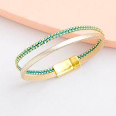 Bracelet Tout en finesse | Perles Corner