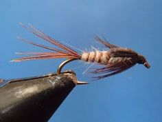 March Brown Nymph - On The Vise