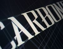 CARBONE Pro - Respect TYPEFACE Family by NACH OH , via Behance